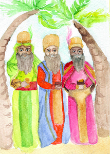 Three Wise Men by Ethan Stamper